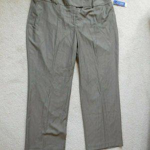 Apt 9 Trouser Dress Pants TUMMY CONTROL Mid-Rise